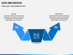 Give and Receive PPT Slide 4