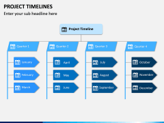 Project Timeline PPT Slide 1