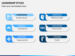 Leadership Styles PPT Slide 12