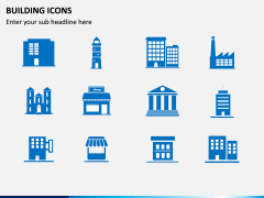 Building Icons PPT Slide 4