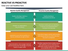 Reactive Proactive PPT Slide 20