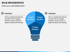 Bulb Infographics PPT Slide 3