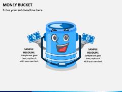 Money Bucket PPT Slide 3