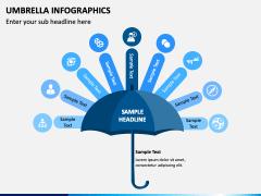 Umbrella Infographics PPT Slide 4