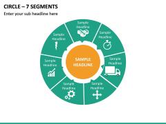 Circle – 7 Segments PPT Slide 2
