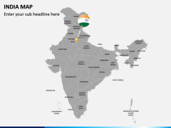 India Map PPT slide 2