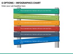 6 Options – Infographics Chart PPT Slide 2