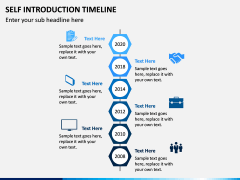 Self Introduction Timeline PPT Slide 14