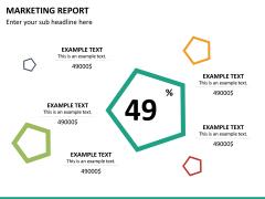 Marketing report PPT slide 19