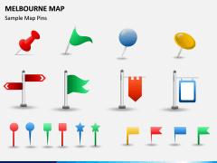 Melbourne Map PPT Slide 13