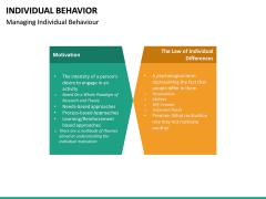 Individual Behavior PPT Slide 19