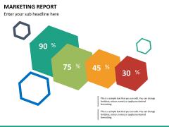 Marketing report PPT slide 14