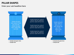 Pillar Shapes PPT Slide 2