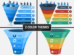 E-commerce Funnel PPT Cover Slide