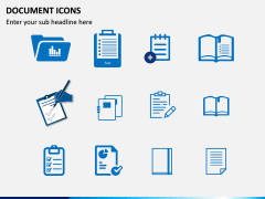 Document Icons PPT Slide 2