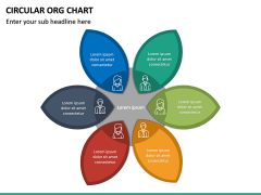 Circular ORG Chart PPT Slide 44