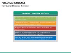 Personal Resilience PPT Slide 40