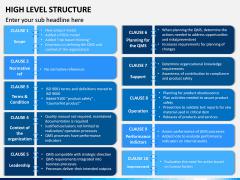 High Level Structure PPT Slide 8