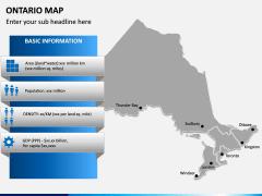 Ontario Map PPT Slide 9