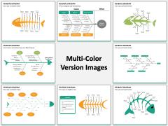 Fishbone diagram PPT slide MC Combined