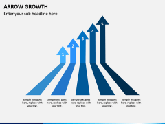Arrow Growth PPT Slide 4