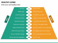 Healthy Living PPT Slide 27
