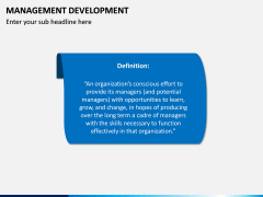Management Development PPT slide 2
