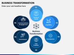 Business Transformation PPT Slide 1