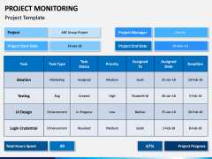 Project Monitoring PPT Slide 4