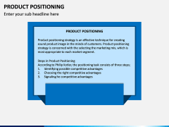 Product Positioning PPT Slide 1