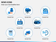 News Icons PPT Slide 3