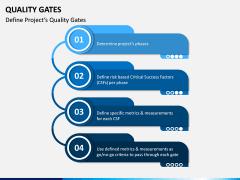 Quality Gates PPT Slide 1