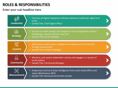 Roles and Responsibilities PPT Slide 24