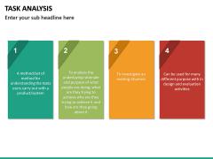 Task Analysis PPT Slide 23