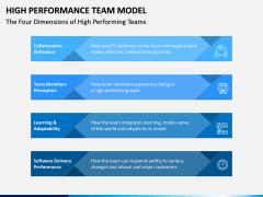 High Performance Team Model PPT Slide 16
