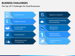 Business Challenges PPT Slide 6
