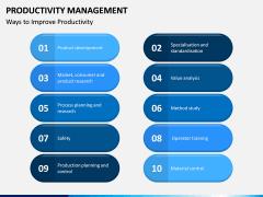 Productivity Management PPT Slide 13