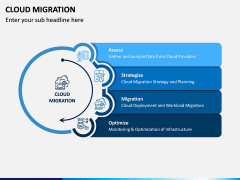 Cloud Migration PPT Slide 1