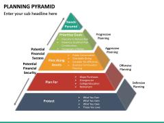 Planning Pyramid PPT Slide 11
