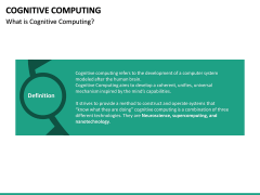 Cognitive Computing PPT Slide 18