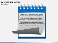 Partnership Model PPT Slide 1