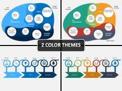 Design Thinking - Lean - Agile PPT Cover Slide