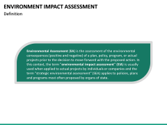Environmental Impact Assessment (EIA) PPT Slide 19
