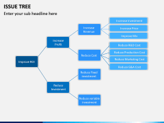 Issue Tree PPT Slide 4