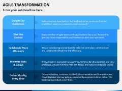 Agile Transformation PPT Slide 20
