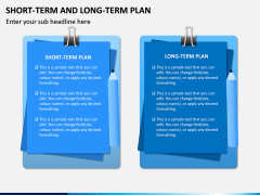 Short Term and Long Term Plan PPT Slide 9
