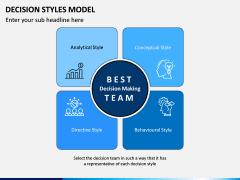 Decision Style Model PPT Slide 2