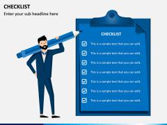 Checklist PPT slide 2