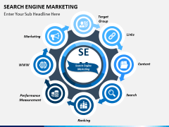 Search engine marketing PPT slide 1