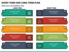 Short Term and Long Term Plan PPT Slide 24